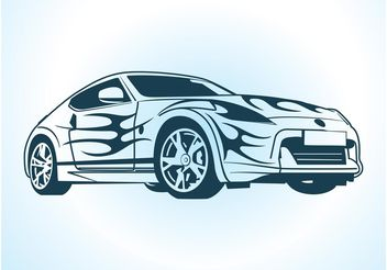 Vector Car Graphics - vector gratuit #149089