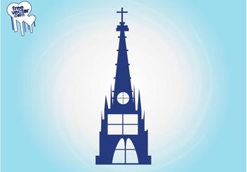 Church Building Graphics - бесплатный vector #149439