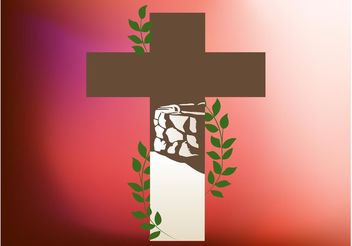 Christian Cross - vector gratuit #149449