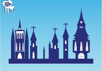 Churches Graphics - бесплатный vector #149539