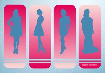 Fashion Models Vector - vector gratuit #150589