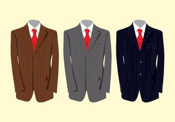 Classy Suits - Free vector #150739