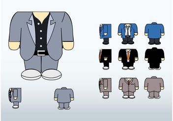 Suits Vector - vector #151369 gratis