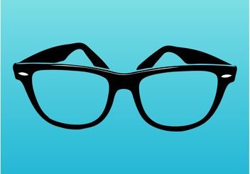 Ray-Ban Glasses - Free vector #151379