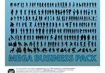 Business People Vector Graphics - vector gratuit #151469