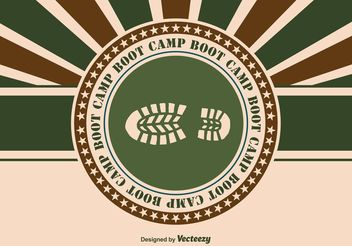 Boot Camp Illustration - Free vector #152339