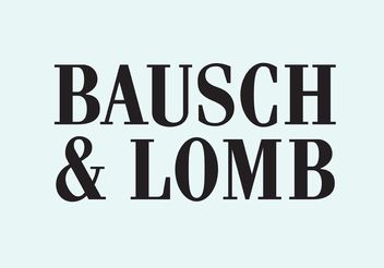 Bausch & Lomb - Kostenloses vector #152459