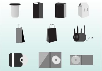 Packaging Vector Set - vector gratuit #152489