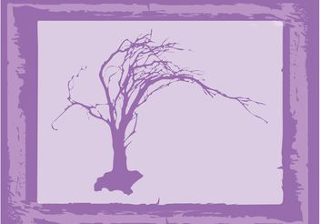 Old Tree Vector - Free vector #152619