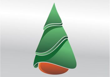 Evergreen Tree - vector gratuit #152939