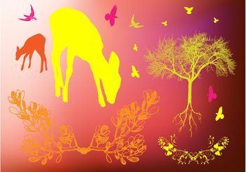 Forest Images - vector gratuit #153069