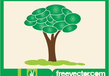 Tree Graphics - Free vector #153229