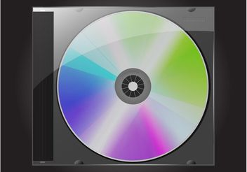 CD Case - vector gratuit #153749