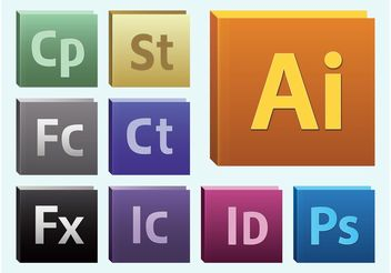 Adobe Software - Free vector #153769