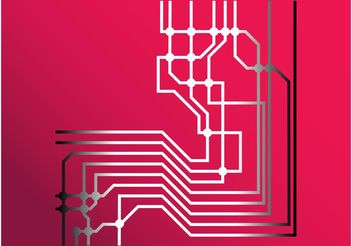 Circuit Lines - Free vector #153789