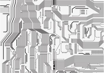 Circuit Board Vector - бесплатный vector #153819
