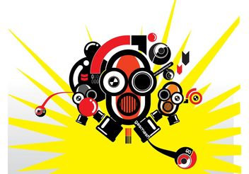 Robots Vector Graphics - Free vector #154159