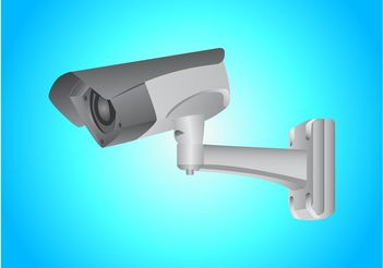 Security Cam - Kostenloses vector #154229