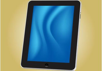 iPad Tablet - Free vector #154299