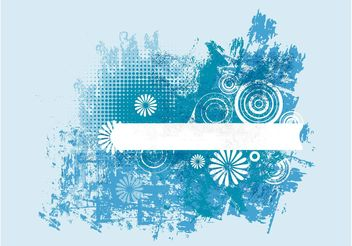 Blue Grunge Design - Free vector #154529