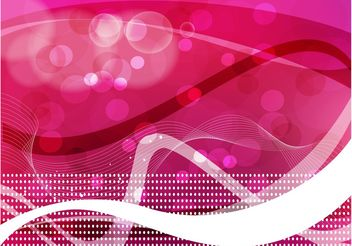 Pink Abstract Background Image - vector #154559 gratis