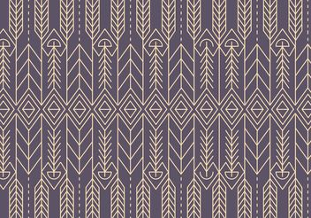 Native Abstract Pattern Background Vector - vector #154649 gratis