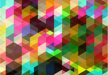 Colorful Shapes Background - vector gratuit #154949