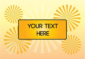 Template With Text Space - vector #155249 gratis