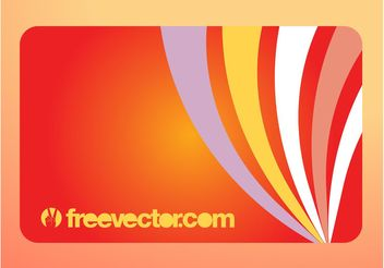 Business Card With Swirls - Free vector #155309