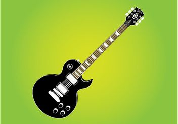 Gibson Les Paul Guitar - Free vector #155619
