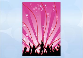 Party Vector Layout - vector gratuit #155669