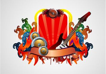 Music Vector Layout - vector #155689 gratis