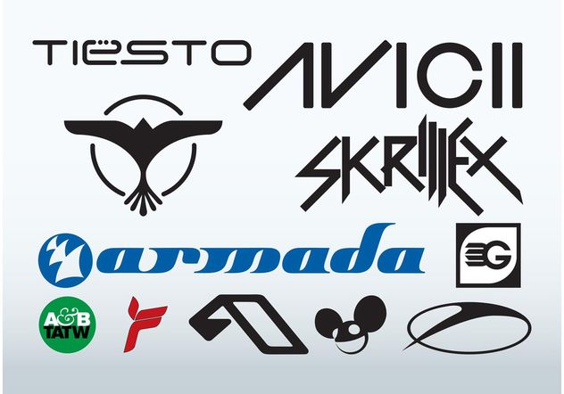 Best Djs - Free vector #155799