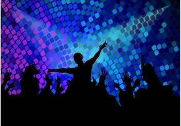 Disco Party Footage - Kostenloses vector #155809