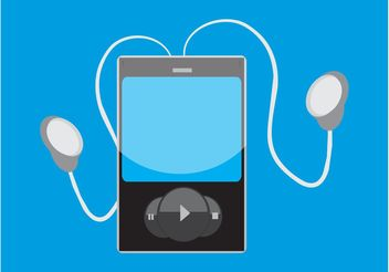 MP3 Player Graphics - vector gratuit #155969