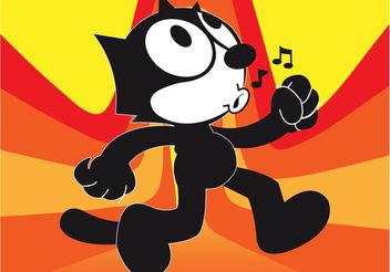 Felix Cartoon - vector #156239 gratis