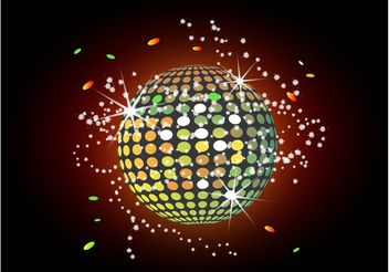 Disco Light - vector gratuit #156259