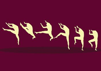 Slow Motion Nutcracker Ballet - vector gratuit #156409