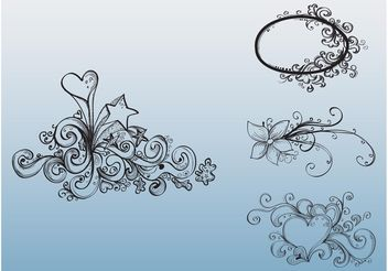 Cool Tattoos - Free vector #156839