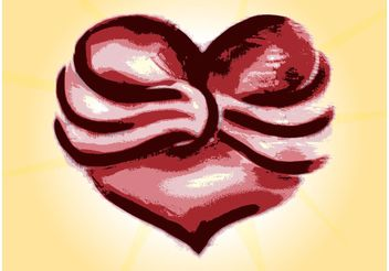 Abstract Heart Vector - vector #156869 gratis