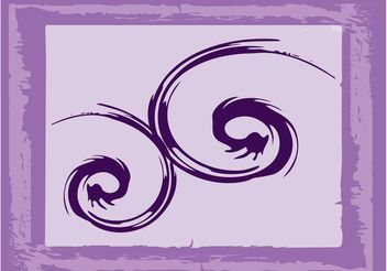 Hand Drawn Spirals - vector gratuit #157159