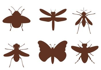 Free Vector Insects - Kostenloses vector #157609