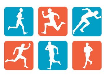 Vector Sport Icons - Free vector #157889