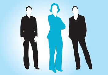 Business Women Vectors - vector #158539 gratis