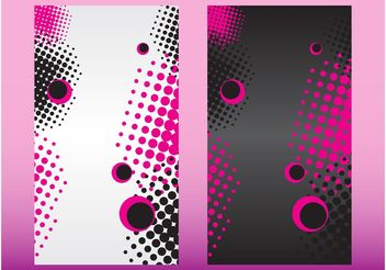Colorful Circles Backgrounds - Kostenloses vector #158999