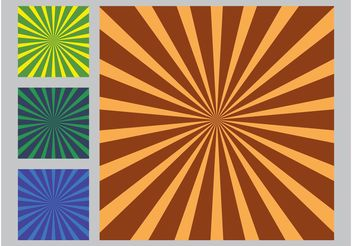 Rays Vector Backgrounds - vector #159049 gratis