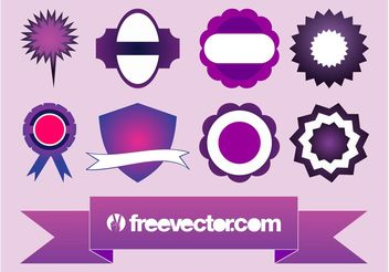 Labels Vector - Free vector #159069