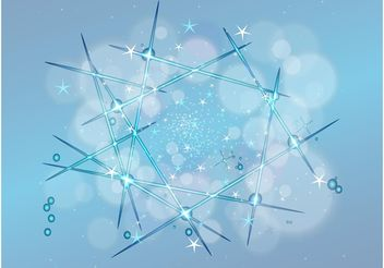 Stars Background Vector - vector #159279 gratis