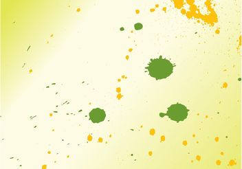 Splatter Vector Layout - vector gratuit #159379