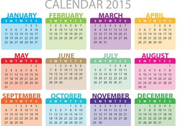 Monthly Daily Planner Vector - Free vector #159409